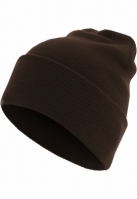 Caciula Beanie Basic Flap Long Version chocolate Urban Classics