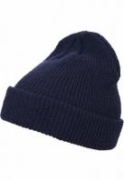 Caciula Beanie Long tricot bleumarin Flexfit