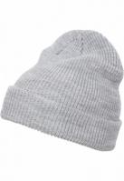 Caciula Beanie Long tricot deschis-gri Flexfit