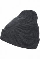 Caciula Beanie Long tricot gri inchis Flexfit
