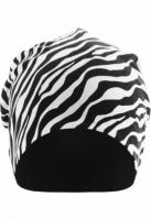Caciula Beanie Printed Jersey zebra-negru MasterDis