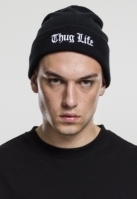 Caciula Beanie Thug Life Old English negru