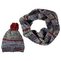 Caciula Fular tubular echitatie tricot and pentru Femei