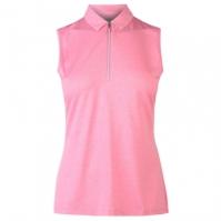 Tricouri Polo Callaway fara maneci Heather pentru Femei