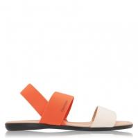 Sandale Calvin Klein Elasticated crem portocaliu
