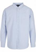 Camasa Basic Oxford albastru-alb Urban Classics