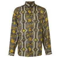 Mergi la Camasa Blugi Versace Versace cu imprimeu pentru Barbati