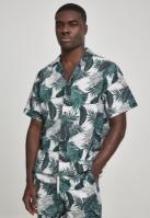 Camasa casual Pattern palm-leaves Urban Classics