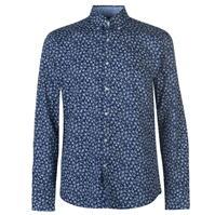 Pierre Cardin Floral cu Maneca Lunga Shirts pentru Barbati