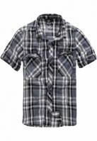 Roadstar Shirt negru-gri carbune Brandit
