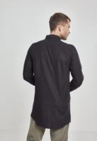 Camasi urban fermoar lateral negru-negru Urban Classics
