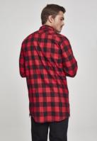 Camasi urban fermoar lateral negru-rosu Urban Classics