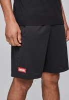 C&S WL Statement Meshshorts negru-rosu Cayler and Sons