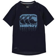 Tricou Canterbury CCC LL Poly pentru baietei