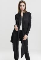 Cardigan dama lung simplu negru Urban Classics