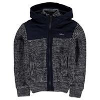Cardigan Lee Cooper Twist Mix Fabric tricot pentru baietei