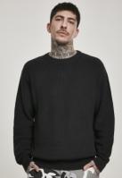 Cardigan Pulover Stitch negru Urban Classics