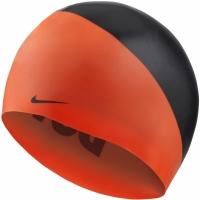 Casca inot Nike Os Slogan portocaliu-negru NESS9164-618 femei