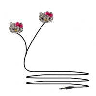 Casti In-ear Hello Kitty