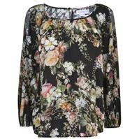 catifea Floral Top