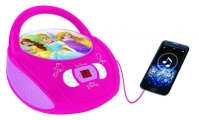 CD Player Boombox Radio Disney Princess