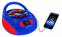 CD Player Boombox Radio Spiderman