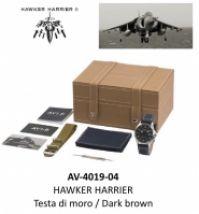 Ceas Avi-8 Mod Hawker Harrier Ii - Testa Di Moro Dark maro - Special Set : 2 Cinturini
