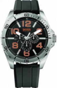Boss Orange Mod Big Time Multifunction Day & Date Silicone Strap 48mm Wr 3atm