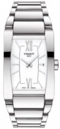 Ceas Bratari Tissot Mod Generosi - - alb Dial - - Date - Swiss Made pentru Femei