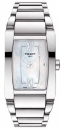 Ceas Bratari Tissot Mod Generosi - - Mop Dial - - Date - Swiss Made pentru Femei