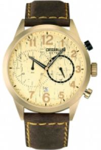 Ceas Cat Mod Cat Extend Chrono Ss Case Syntetic Strap Quartz Date 42mm
