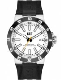 Ceas Cat Mod Cosmofit 2012 Ss Case Rubber Strap Data Quartz 43mm Wr 10atm