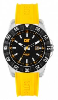 Ceas Cat Mod Dp Sport Ss Case cauciuc Strap Quartz Data 44mm Wr 10atm
