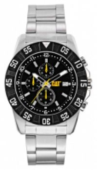 Ceas Cat Mod Dp Sport Ss Quartz Data 44mm Wr 10atm