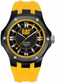 Ceas Cat Mod Navigo Ss Case Rubber Strap Quartz Datatachymeter 44mm Wr 10atm