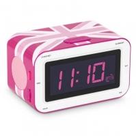 Ceas Cu Alarma Si Radio roz Uk Bigben