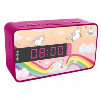 Ceas Cu Alarma Si Radio Unicorn Bigben