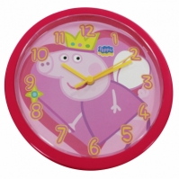 Ceas de perete Peppa Pig Orologio Da Parete Rosso rosu Diam 25cm