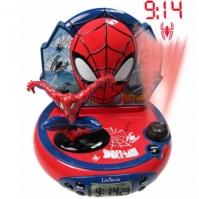 Ceas Desteptator Copii Digital Cu Proiectie 3d Spiderman
