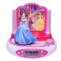 Ceas Desteptator Copii Digital Cu Proiectie Disney Princess