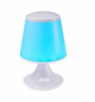 Ceas Digital Cu Radio Si Veioza Multicolora Luminous Bigben
