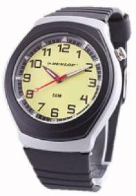 Ceas Dunlop Analogic Quartz galben Dial