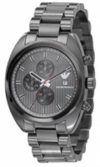 Ceas Emporio Armani Mod Chrono Ip negru Mineral Glass Wr 50m 42mm ***special Offer