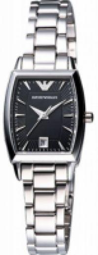 Ceas Emporio Armani Mod Ss clasic , negru Dial, Date, 31mm Wr 5atm * pentru Femei