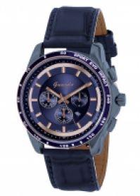 Ceas Guardo Mod 8232-9 Alloy Case albastru Strap Miyota Mechanism 49mm Wr 3atm