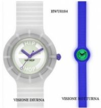 Ceas Hip Hop Glowing Collection Mod Trasparent Fluo 32mm