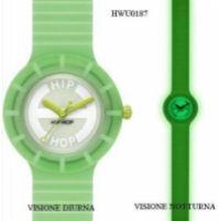 Ceas Hip Hop Glowing Collection Mod verde Fluo 32mm