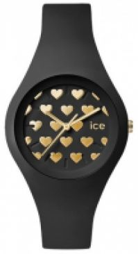 Ceas Ice- - Ice Love Collection Mod Bleck Heart Small
