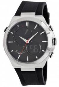 Ceas Kenneth Cole - Ss Dual Time Gent negru Strap