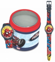 Mergi la Ceas Marvel Kid Mod Spiderman - Tin Box
